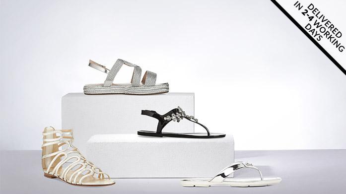 Summer Footwear at BrandAlley