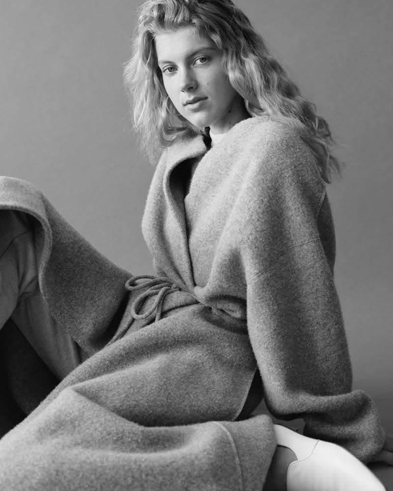 The Row Mani Wool-Blend Felt Coat