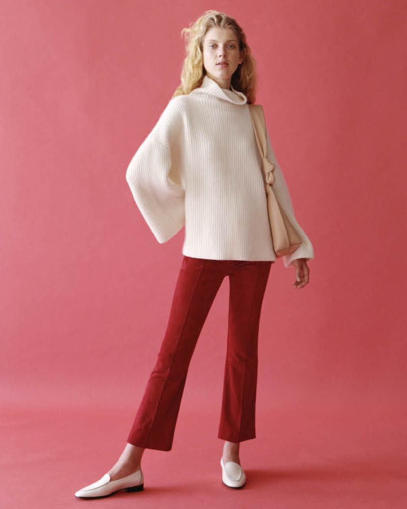 The Row Violina Cashmere Oversized Sweater
