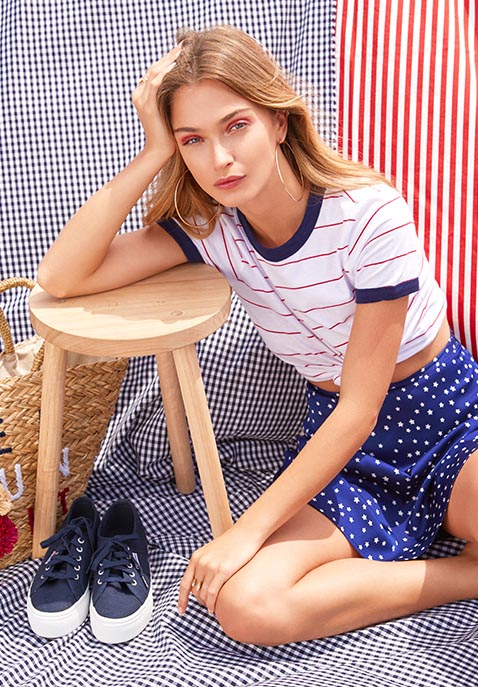 American Beauty Revolve Independence Day 2017 Lookbook Nawo