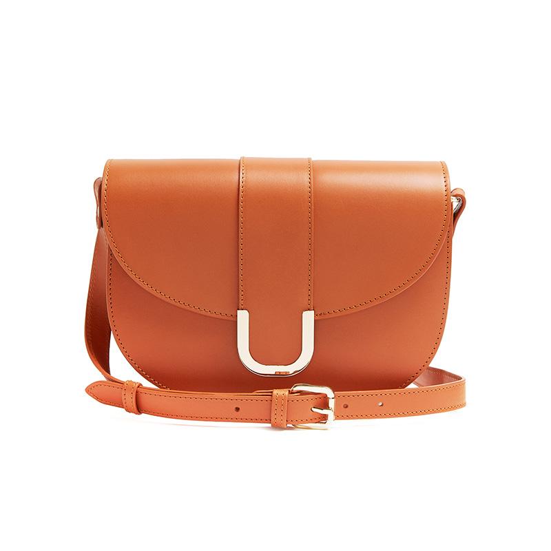 A.P.C. Soho Leather Cross-Body Bag