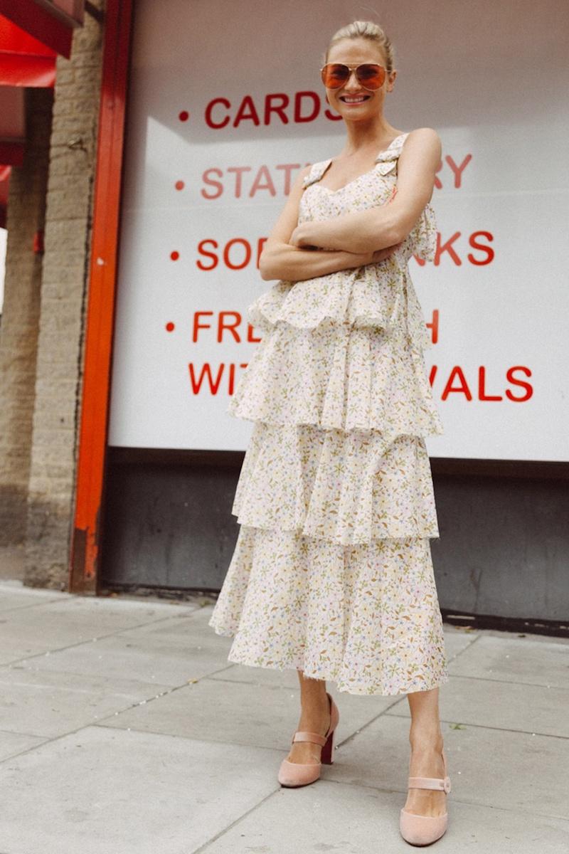 Alexachung Floral-Print Cotton-Voile Dress
