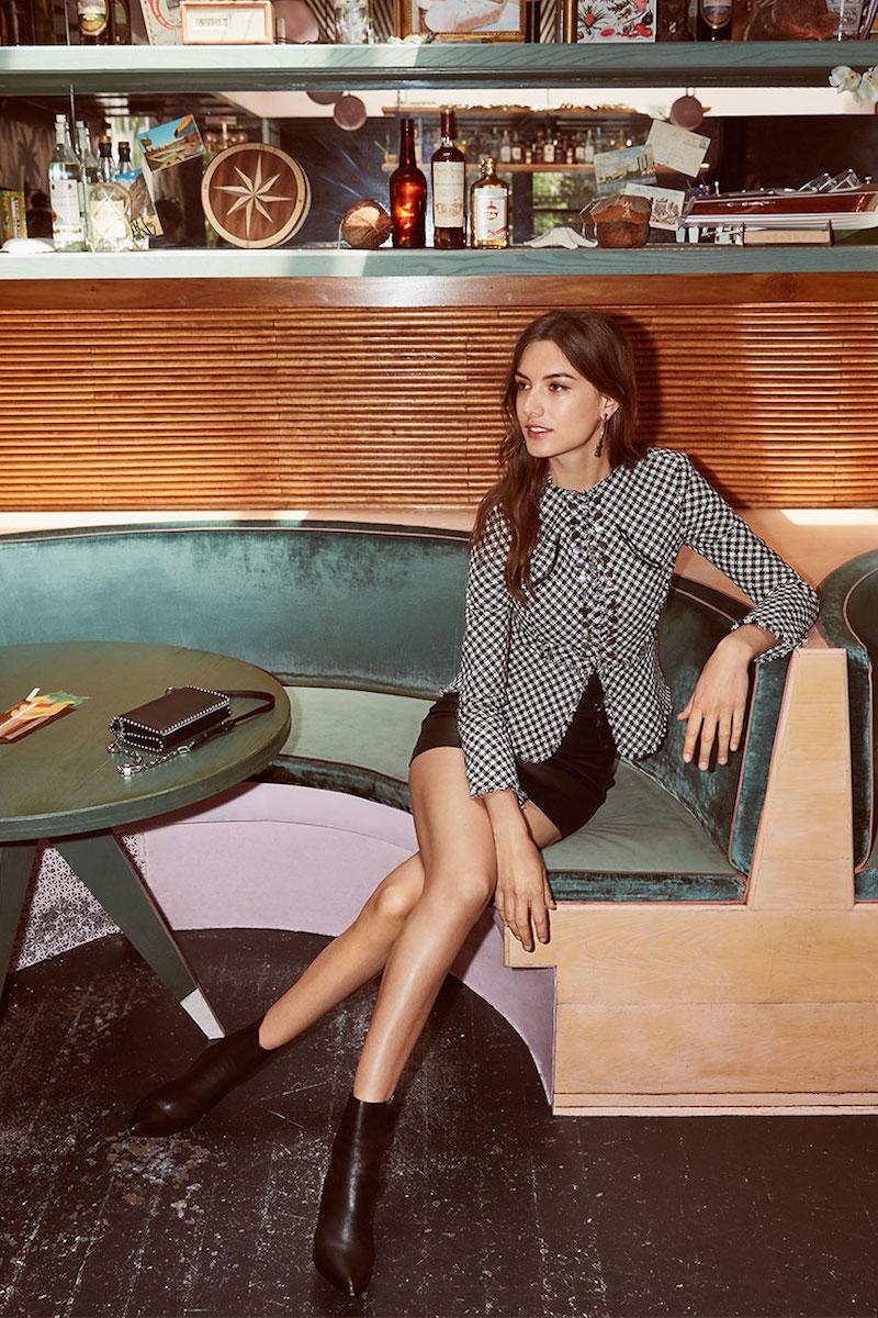 Alexander Wang High Waisted Leather Miniskirt