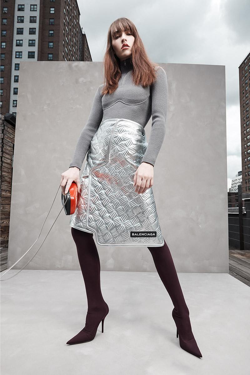 Balenciaga Car Design Molded Skirt