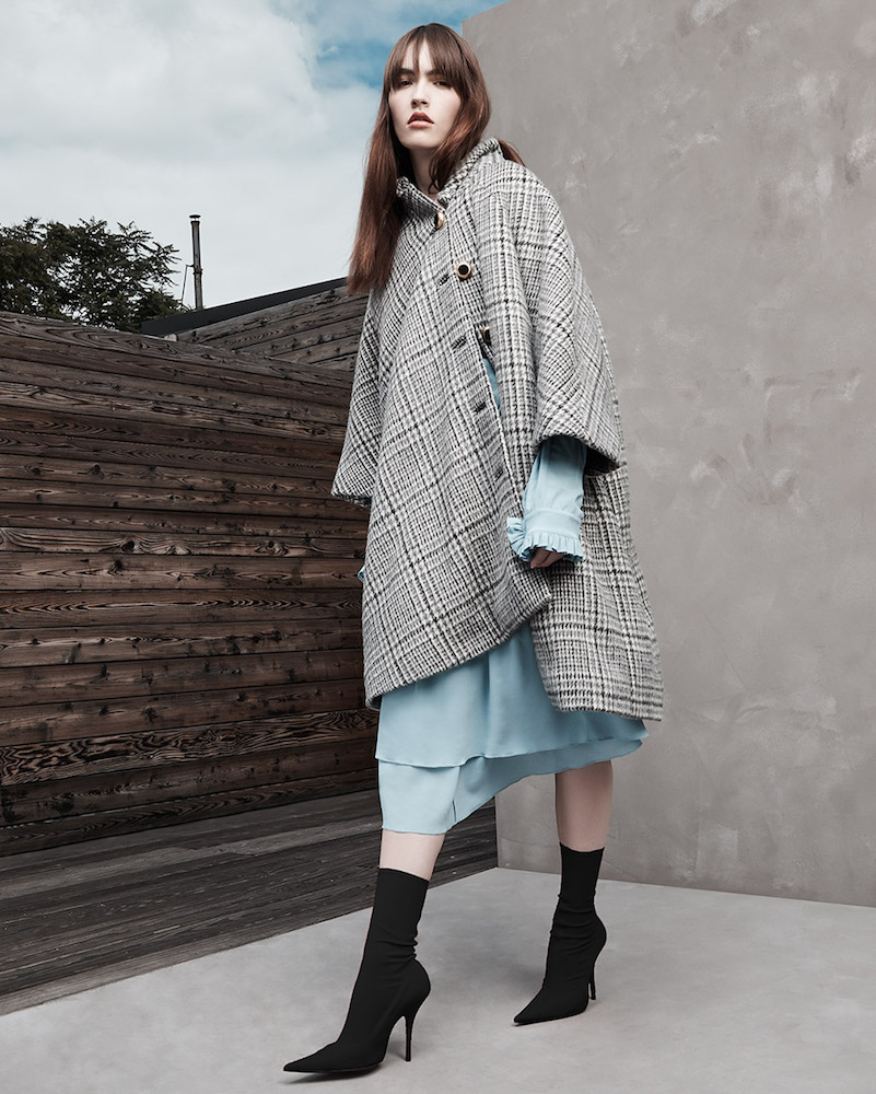Balenciaga Wool Mohair Coat