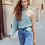 C/Meo Collective Everlasting One Shoulder Top