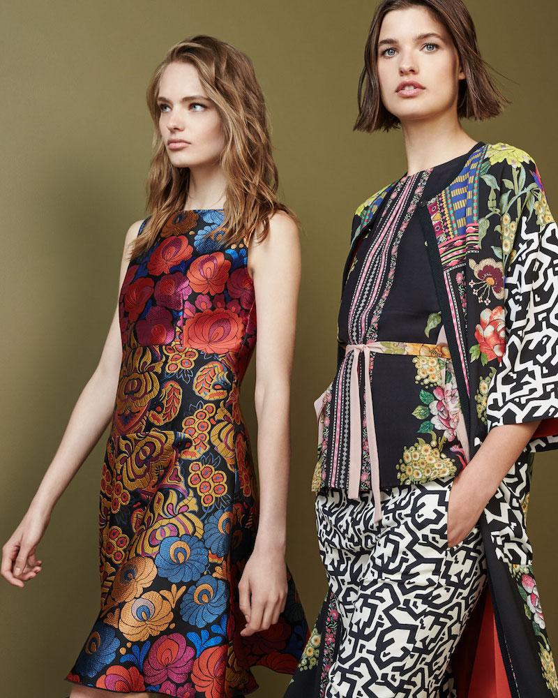 Etro Floral & Geometric-Print Blouse