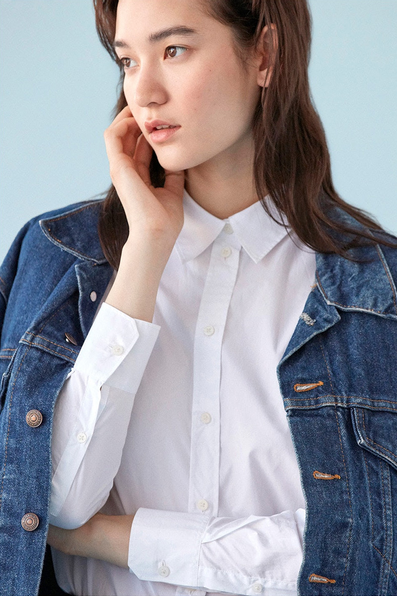 Everlane Relaxed Poplin Shirt