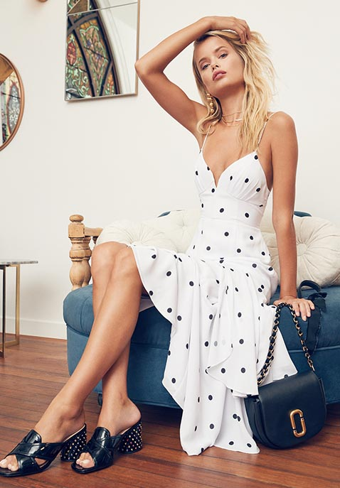 FAME AND PARTNERS x Revolve Georgette Dress