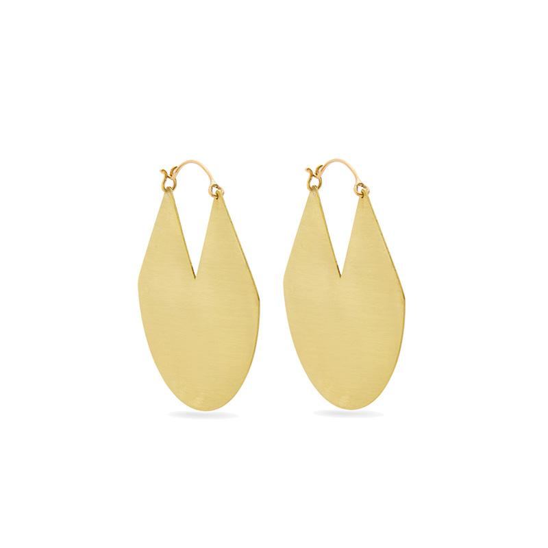 Fay Andrada Viuhka Brass Earrings