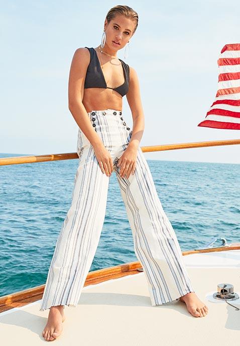 Frankies Bikinis Shea Top