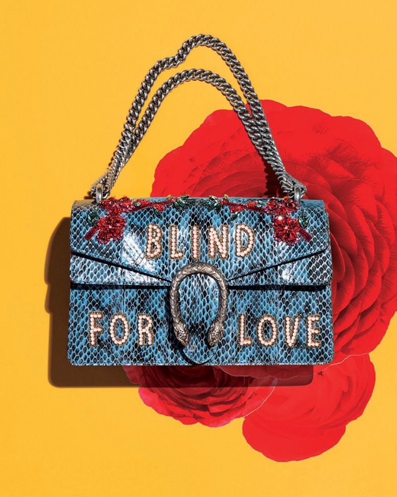 Gucci Dionysus Small Blind For Love Shoulder Bag