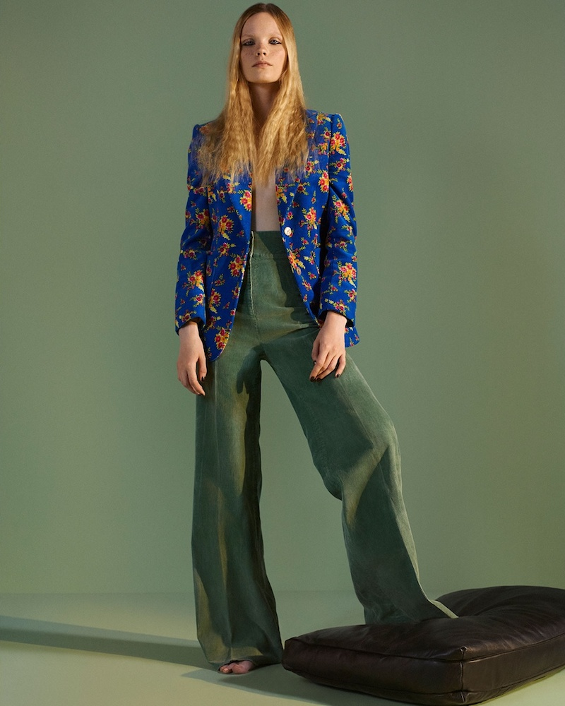 Gucci High-Rise Wide-Leg Corduroy Trousers