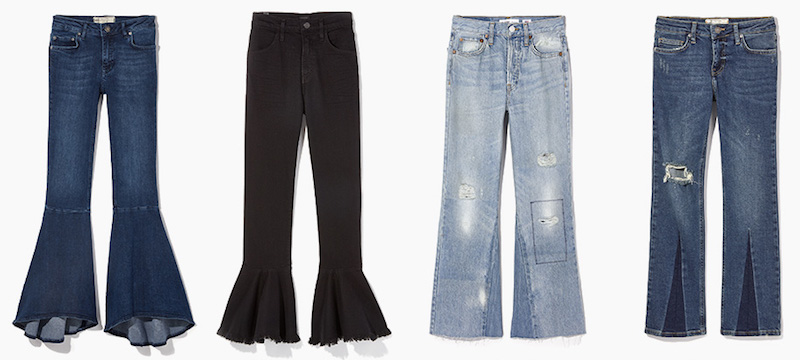 How to Wear the New Flare