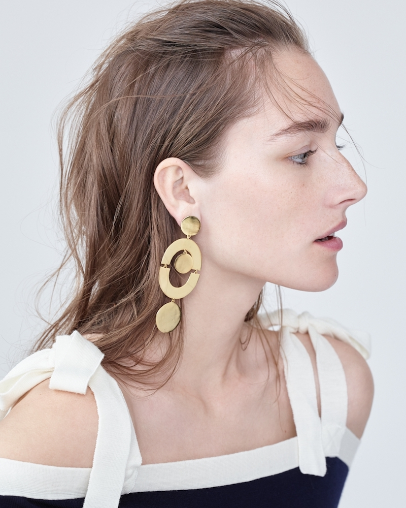 J.Crew Orbit Earrings