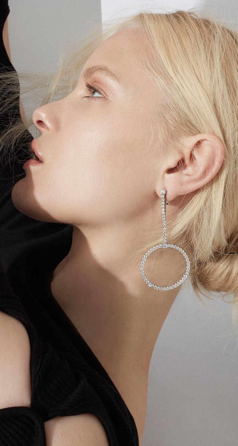 Jack Vartanian Voyeur Hoop Earrings