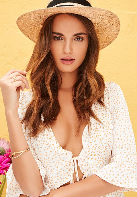 Janessa Leone Six Hat in Natural