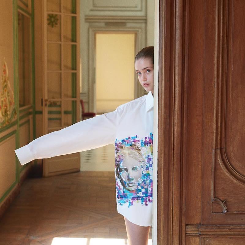 Jil Sander Clara Printed Shirt