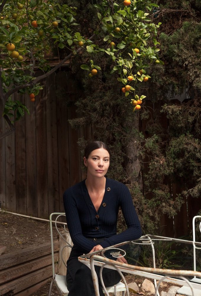 Khaite Marisol Button-Down Ribbed-Knit Bodysuit