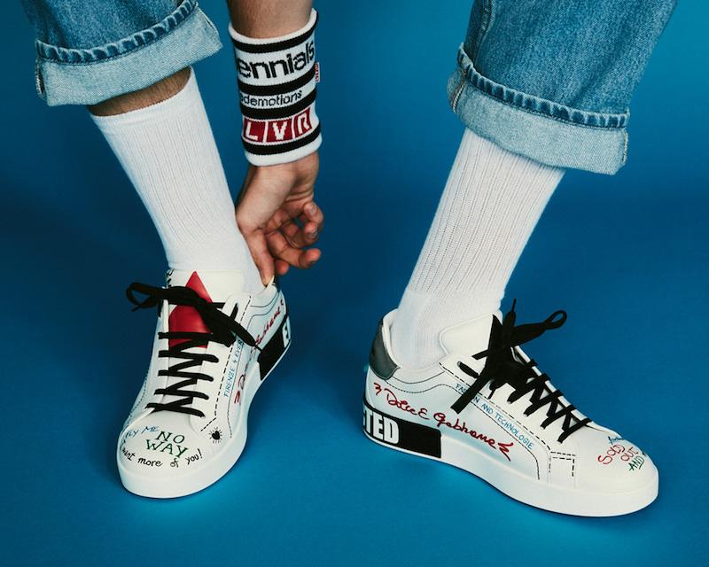 LVR Editions x Dolce&Gabbana Sneaker