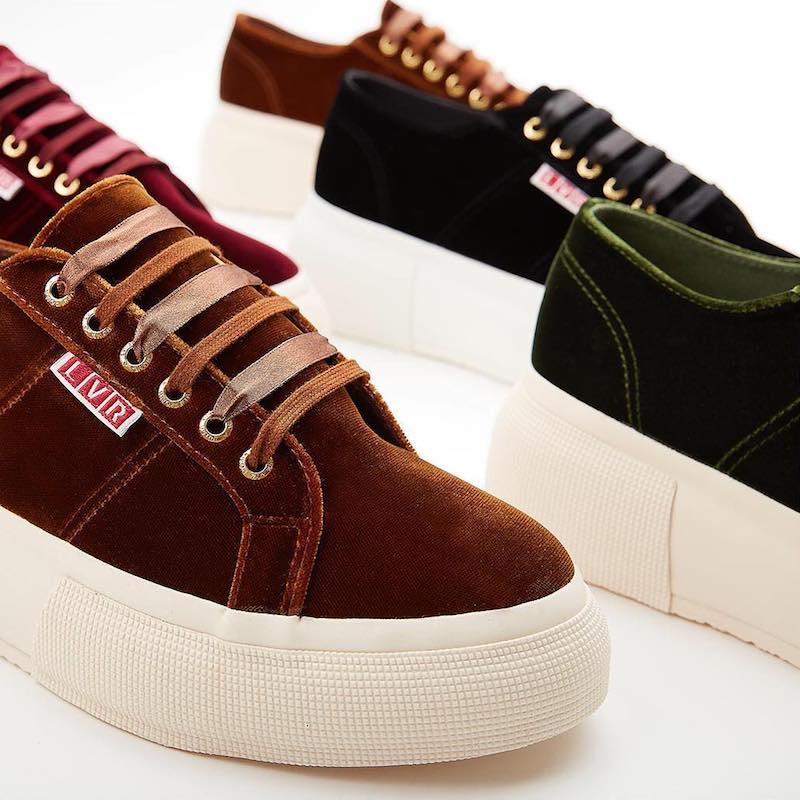 LVR Editions x Superga Sneakers