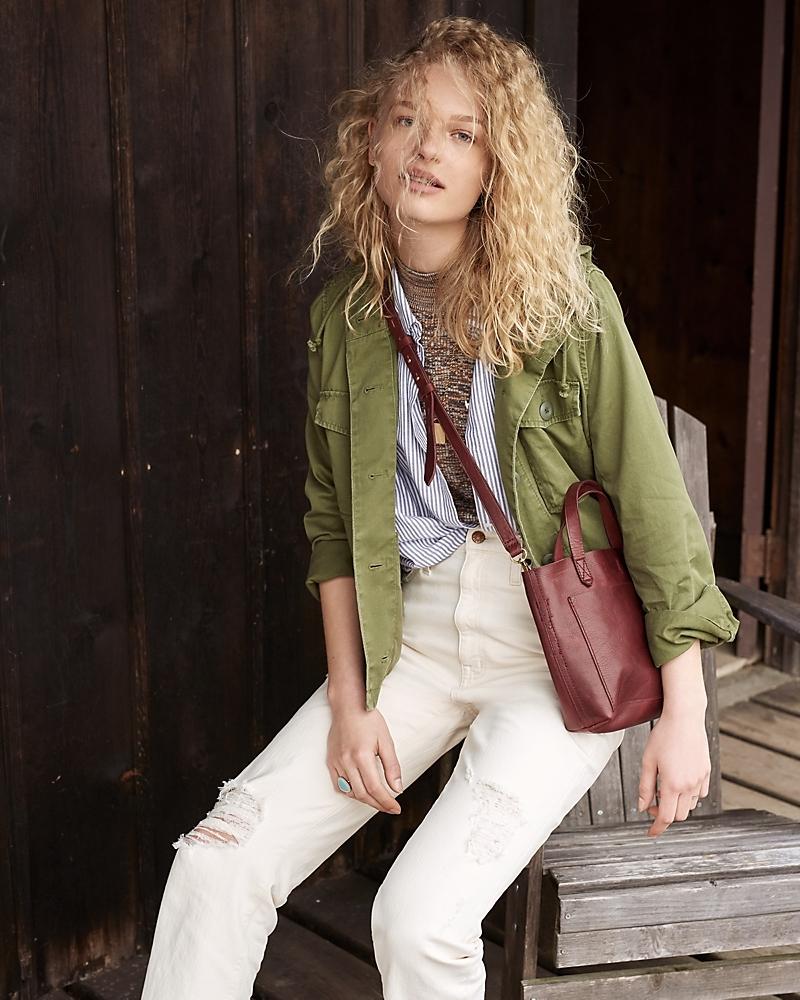 Madewell Cropped Anorak Jacket