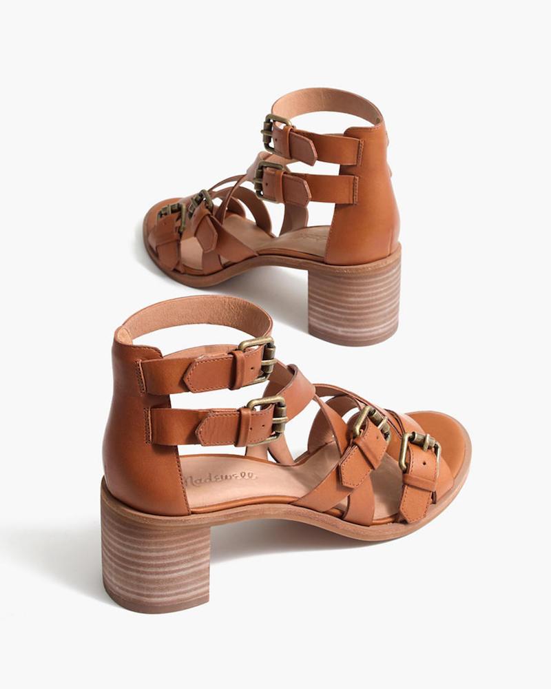 Madewell The Talisa Buckle Sandal