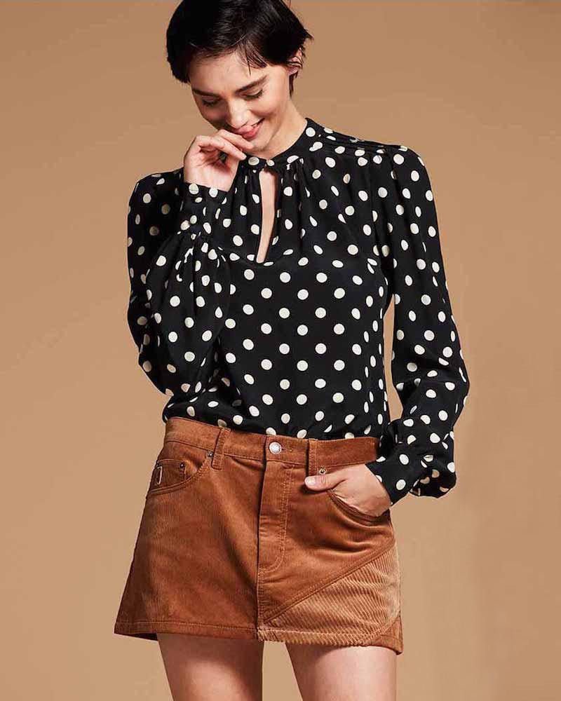 Marc Jacobs Corduroy Mini Skirt
