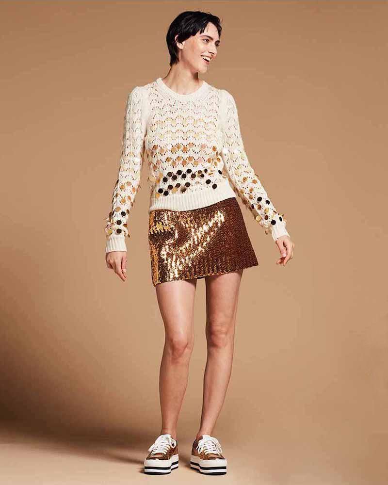 Marc Jacobs Dégradé Paillette Sweater