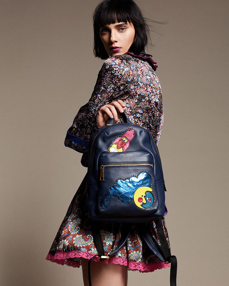 Marc Jacobs x Julie Verhoeven Biker Patchwork Backpack