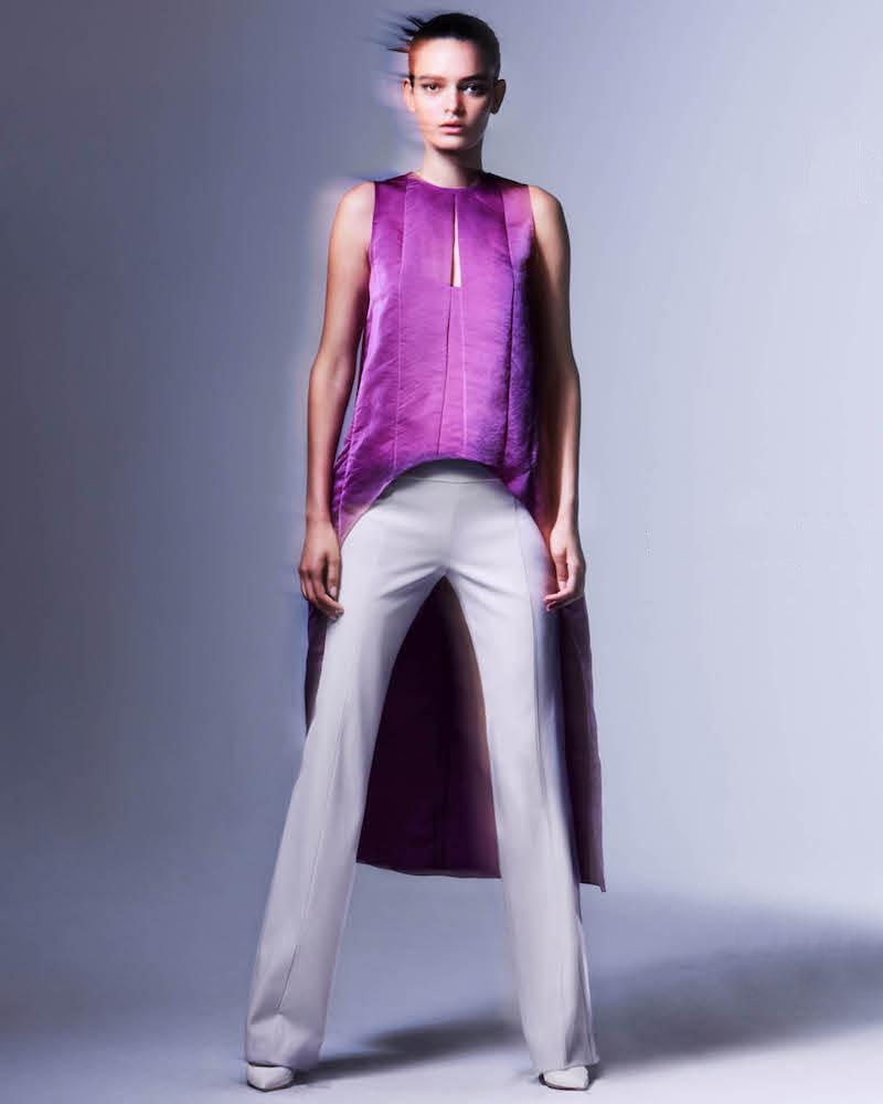 Narciso Rodriguez Wool Gabardine Trousers