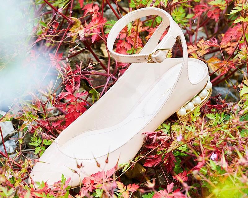 Nicholas Kirkwood Lola Patent Leather Ballerinas
