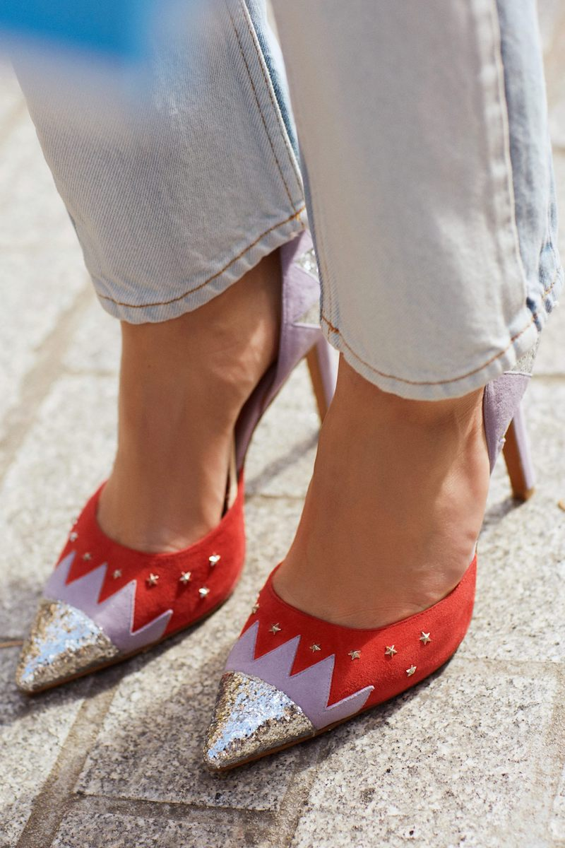 & Other Stories Suede Pumps