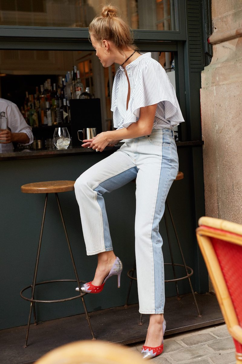 & Other Stories Two-Toned Jeans