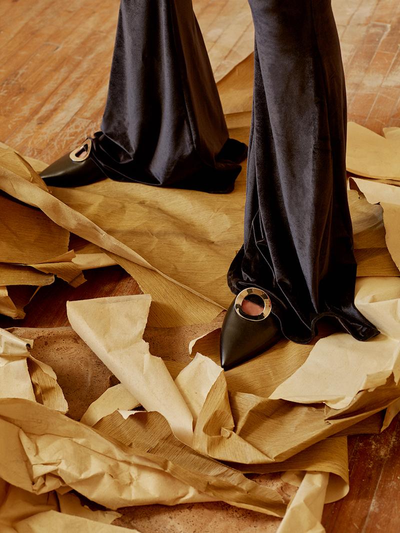 Proenza Schouler 10mm Leather Mules
