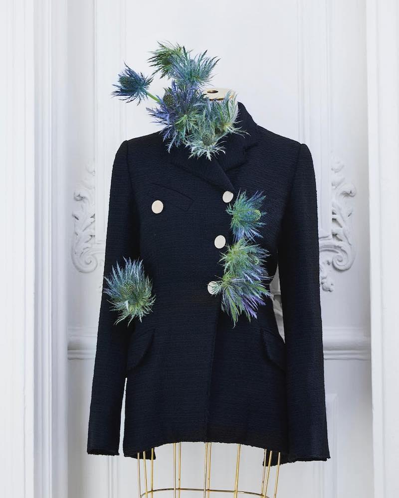 Proenza Schouler Tweed Asymmetrical Jacket