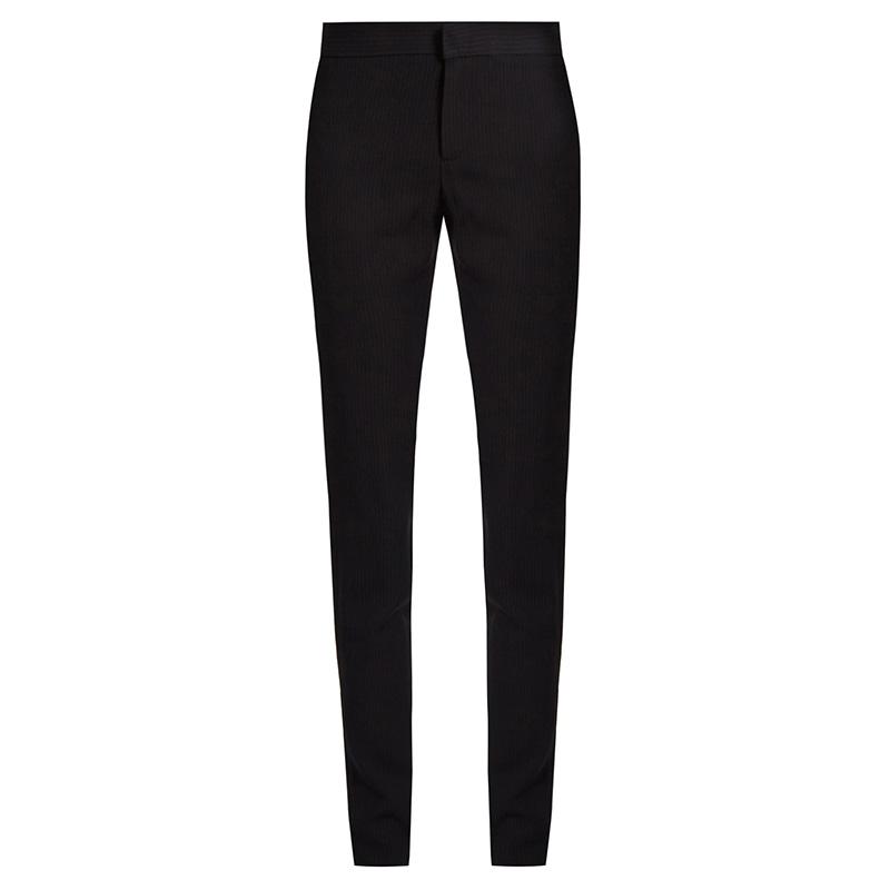 Raey Pinstriped Skinny Twill Trousers