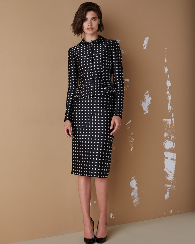 Ralph Lauren Collection Carolyn Polka-Dot Jacket