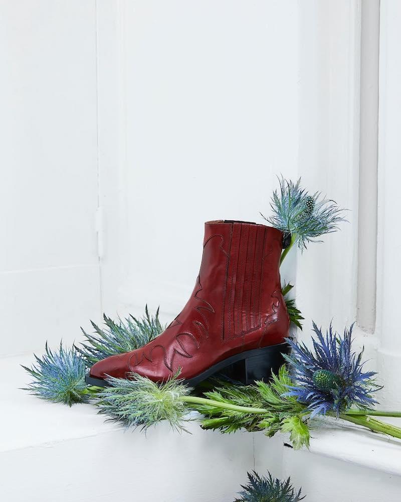Sartore Flaming Boots