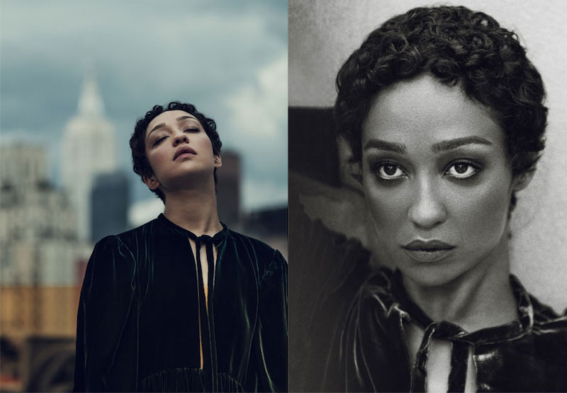 Softly Does It Ruth Negga for The EDIT