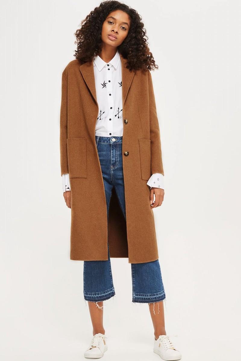 Topshop Long Coat