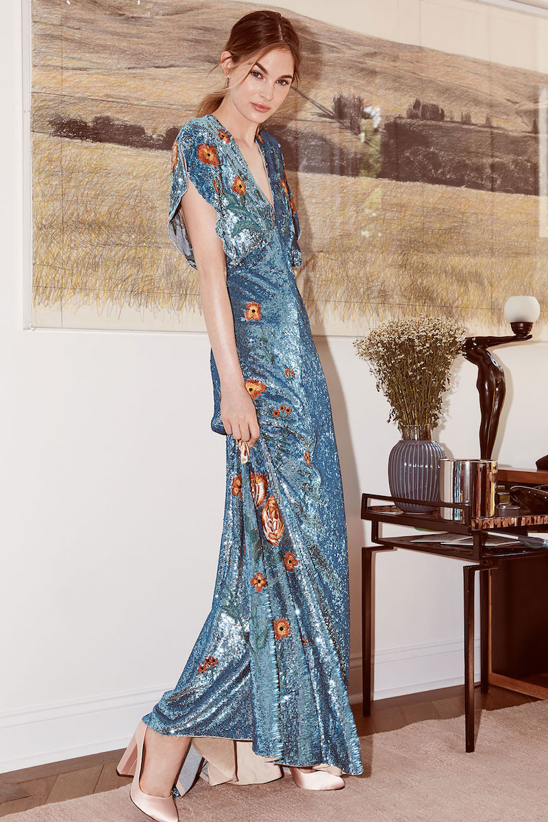 Temperley London Wild Horse Long Dress