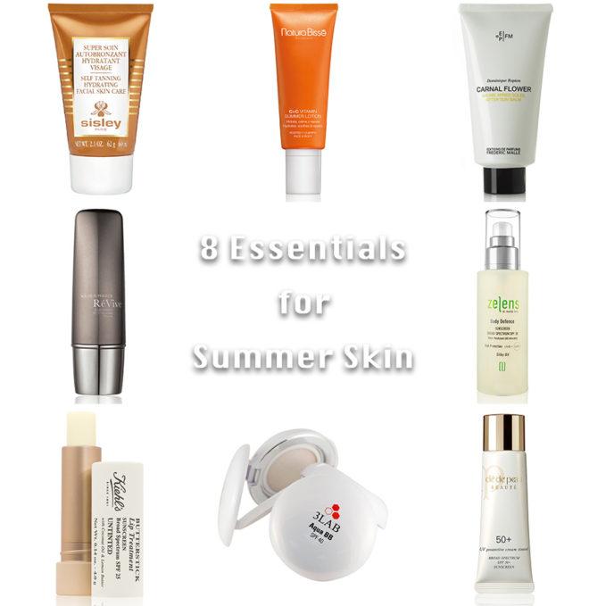 Top 8 Essentials For Summer Skin