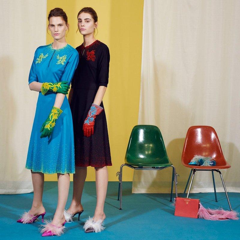 mytheresa.com x Prada Embellished Midi Dress