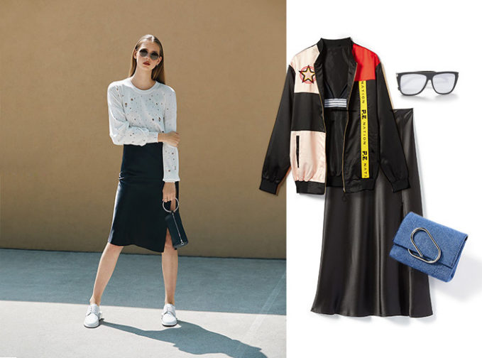 3 Ways to Wear Slip Skirts