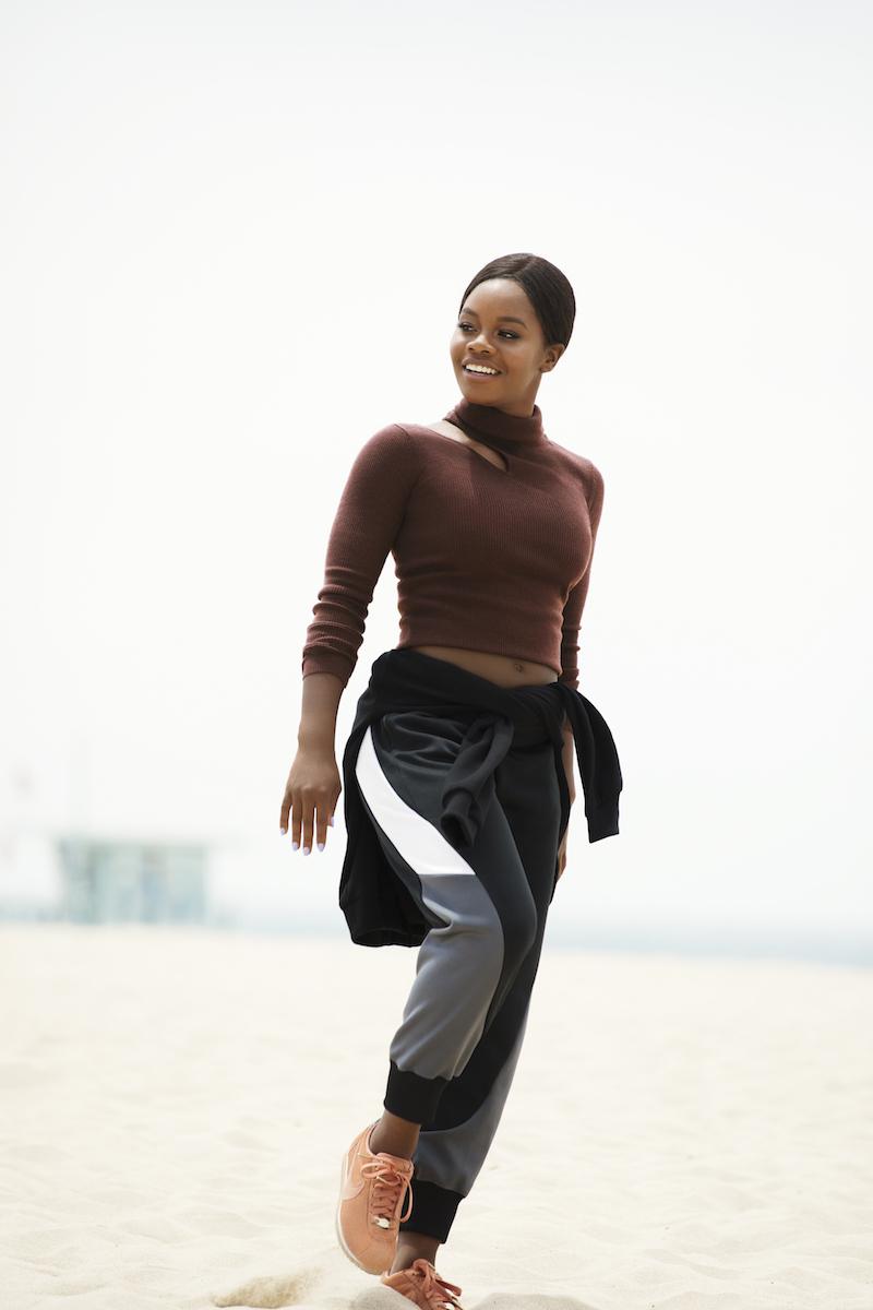 A.L.C. Kara Merino Wool Blend Cutout Sweater