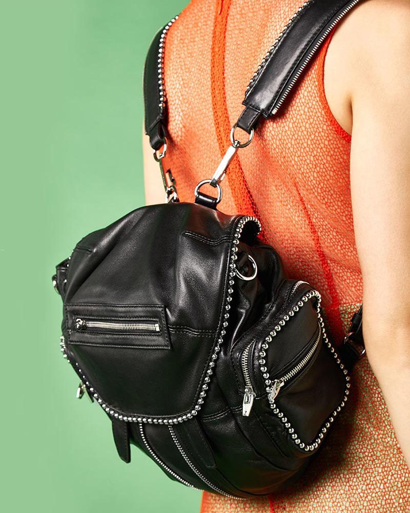 Alexander Wang Ball Stud Mini Marti Backpack