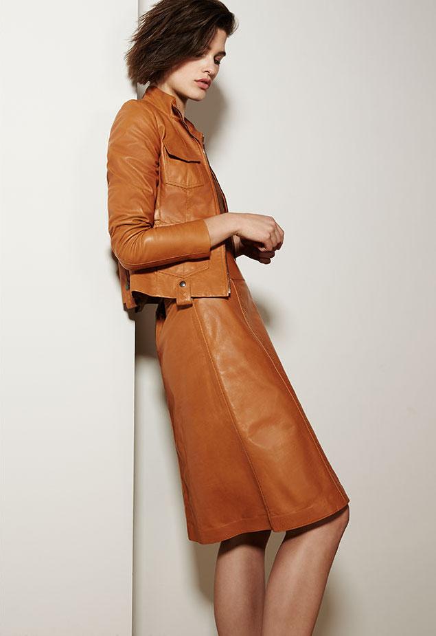 Bottega Veneta Calf Leather Safari Jacket