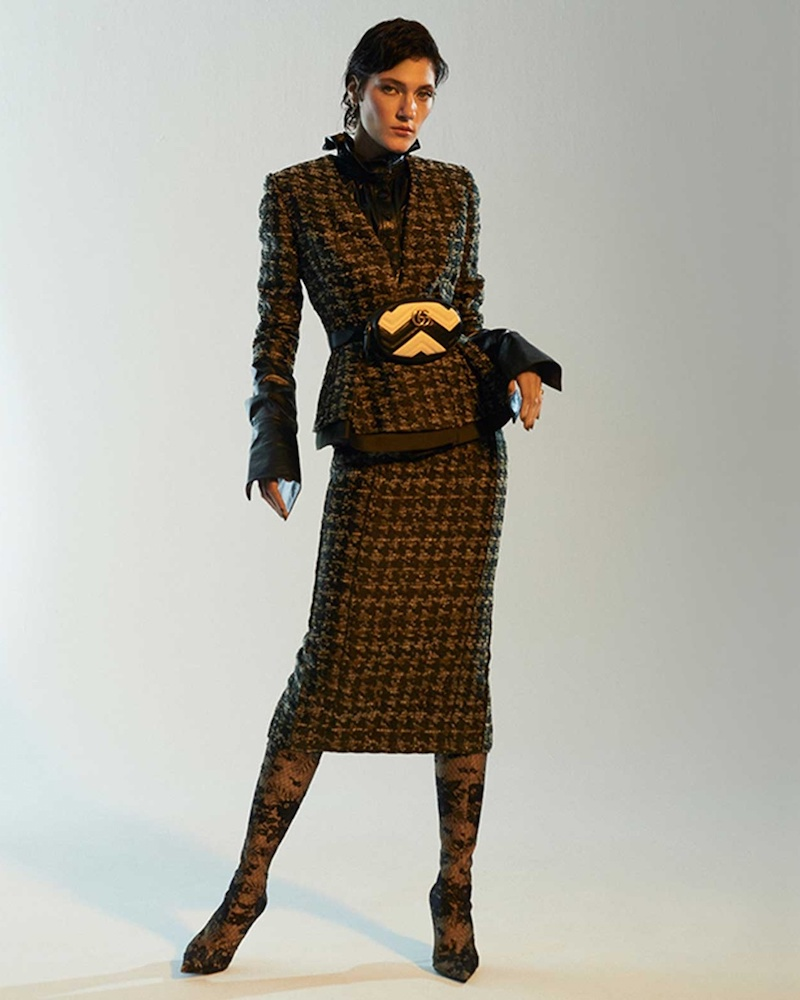 Carl Kapp Grey Multi Wool Suit Jacket