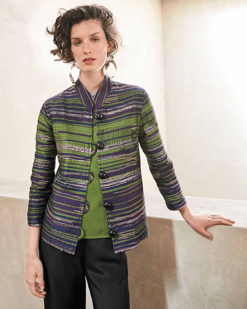 Caroline Rose Romancing The Stone Jacquard Jacket